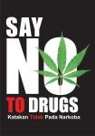 poster anti narkoba rezise