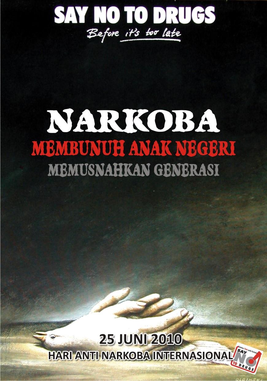 Poster anti .  BNNK Garut
