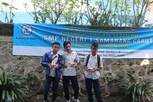 Siswa SMPN 1 Samarang telah selesai di test urine