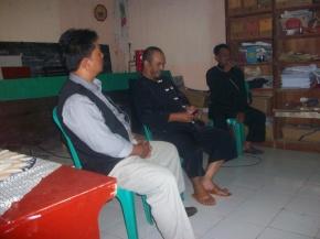 Lokasi FGD di Aula Desa Lebak Agung (Fhoto : Dok. BNNK Garut)